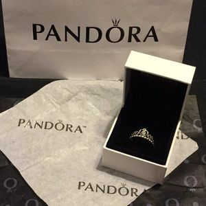 Pandora princess tiara ring